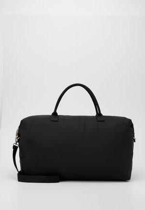 TRAVEL WEEKEND BAG - Weekend bag - black