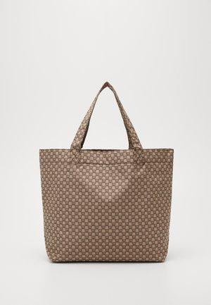 TRAVEL TOTE BAG - Shoppingveske - beige/black