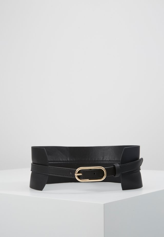 WAIST BELT EXTRA WIDE - Midjebelte - black