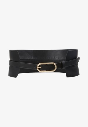 WAIST BELT EXTRA WIDE - Pasek - black