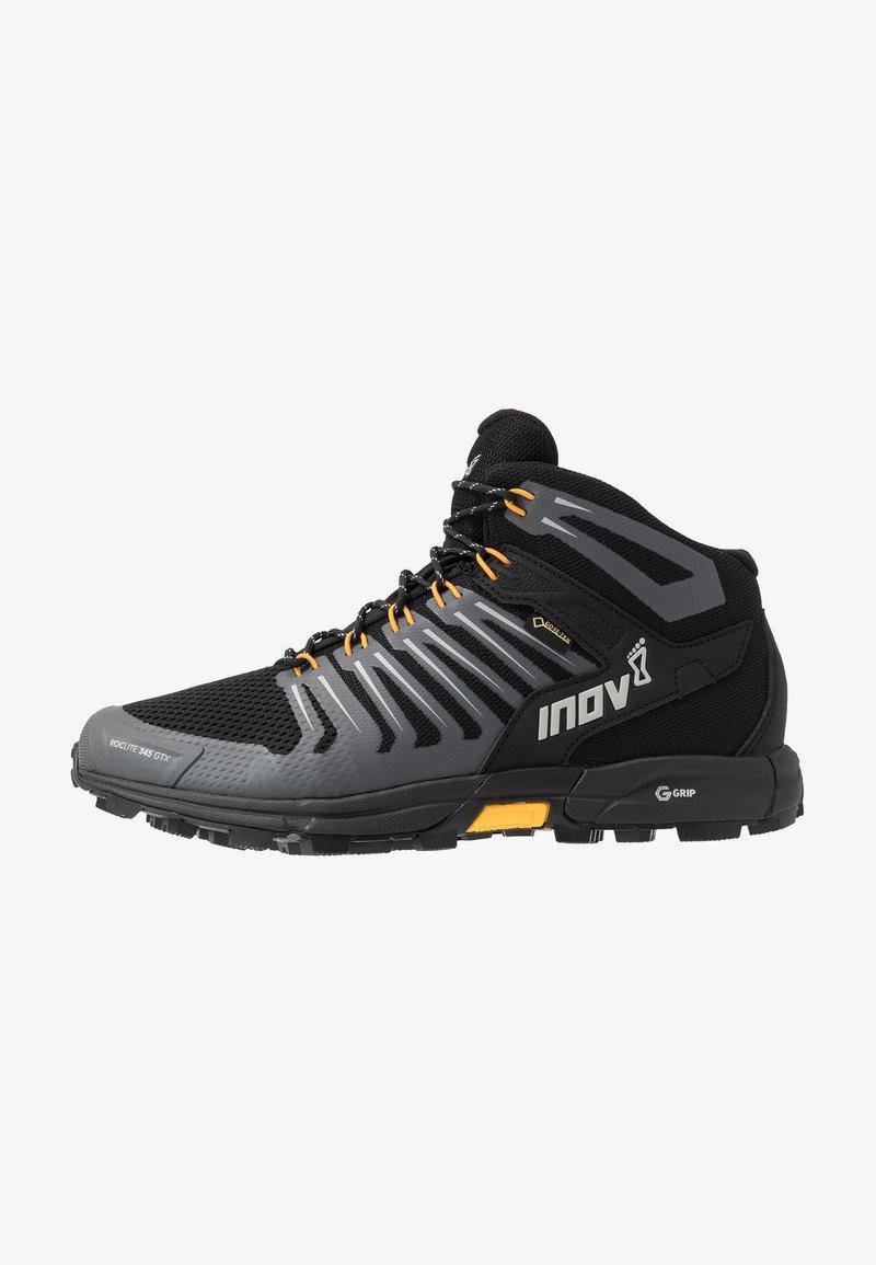 Inov-8 - ROCLITE 345 GTX - Chaussures de marche - black/yellow