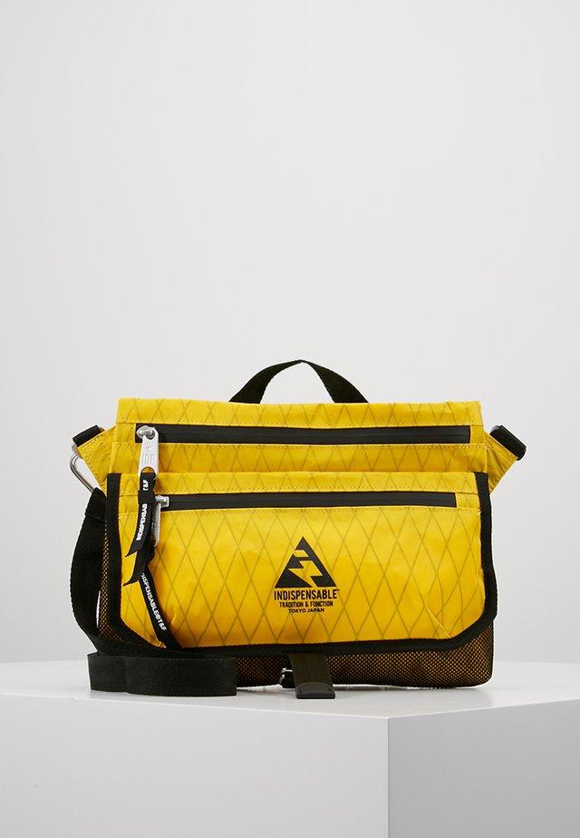 SACOCHE  - Across body bag - yellow