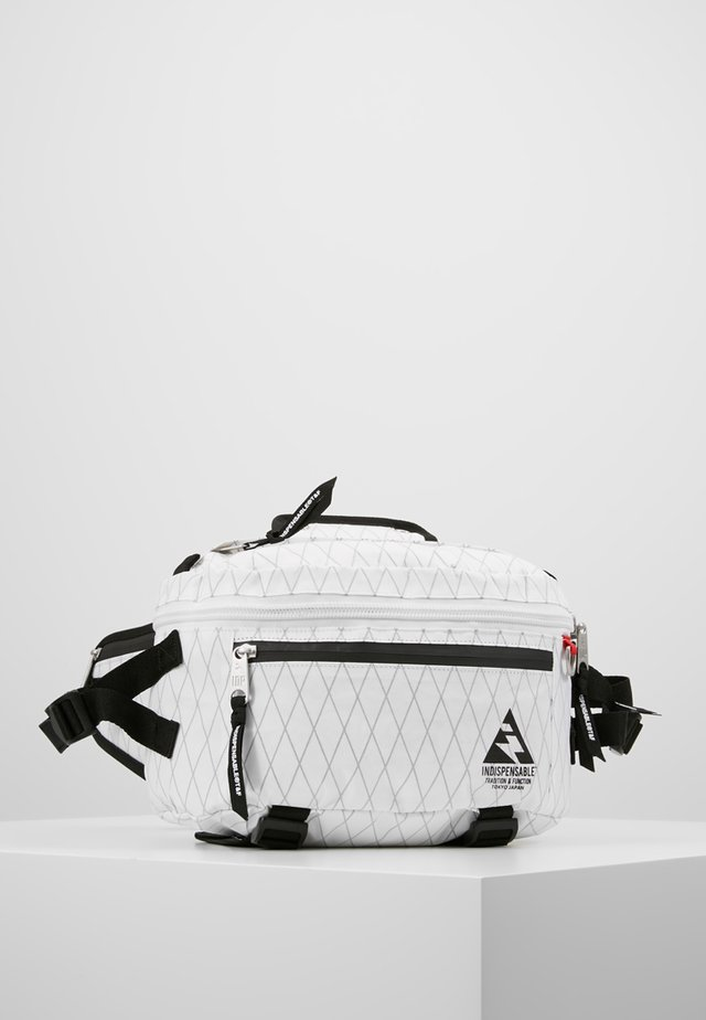WAIST BAG ATTACH - Gürteltasche - white