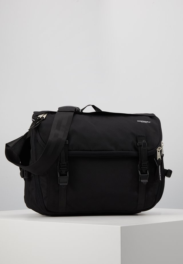 SHOULDERBAG FLIP - Notebooktasche - black