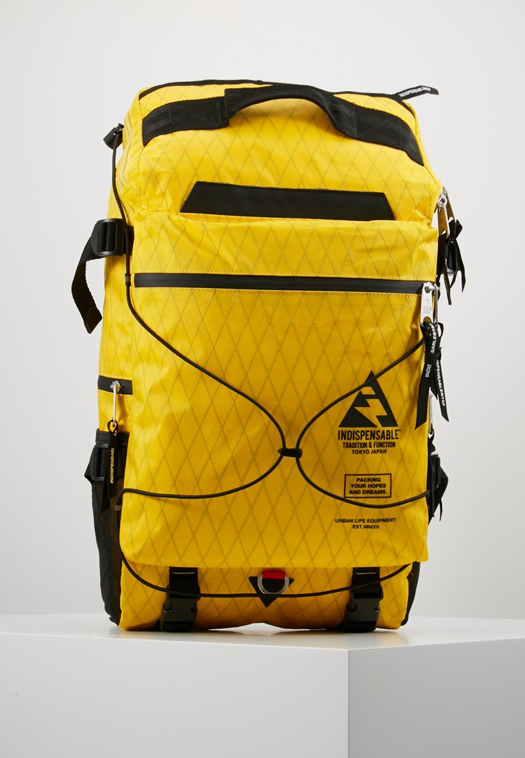 Indispensable - BACKPACK BUSTLE  - Sac à dos - yellow