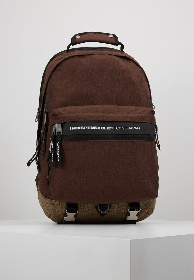Indispensable - FUSION BACKPACK - Tagesrucksack - brown
