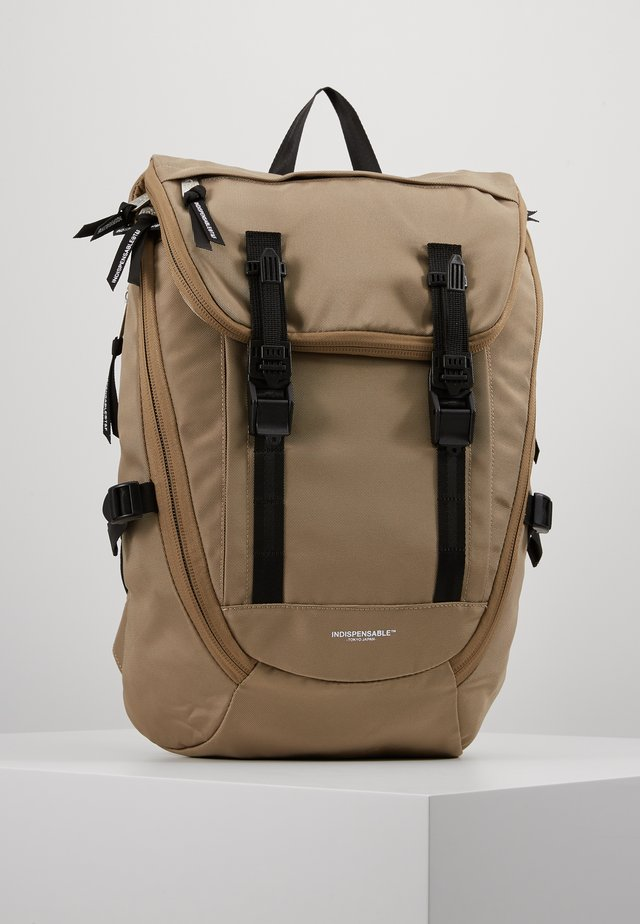 BACKPACK FOLK - Reppu - beige