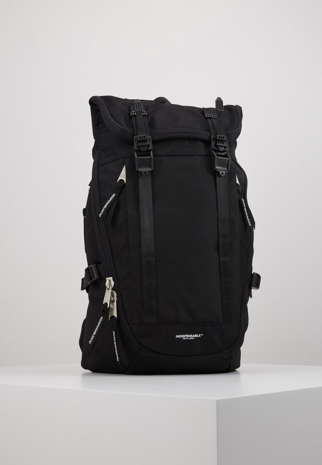 BACKPACK FOLK - Ryggsekk - black