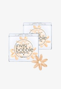 Invisibobble - NANO HAARGUMMI 2 PACK - Hårstyling-accessories - to be or nude to be - 0