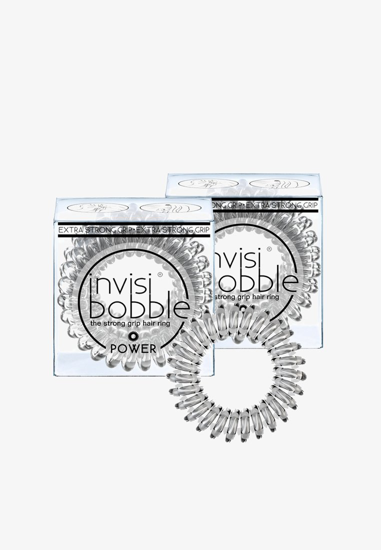 Invisibobble - POWER HAARGUMMI 2 PACK - Haar-Styling-Accessoires - crystal clear