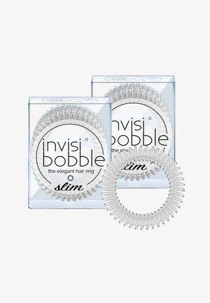 SLIM HAARGUMMI 2 PACK - Haar-Styling-Accessoires - crystal clear