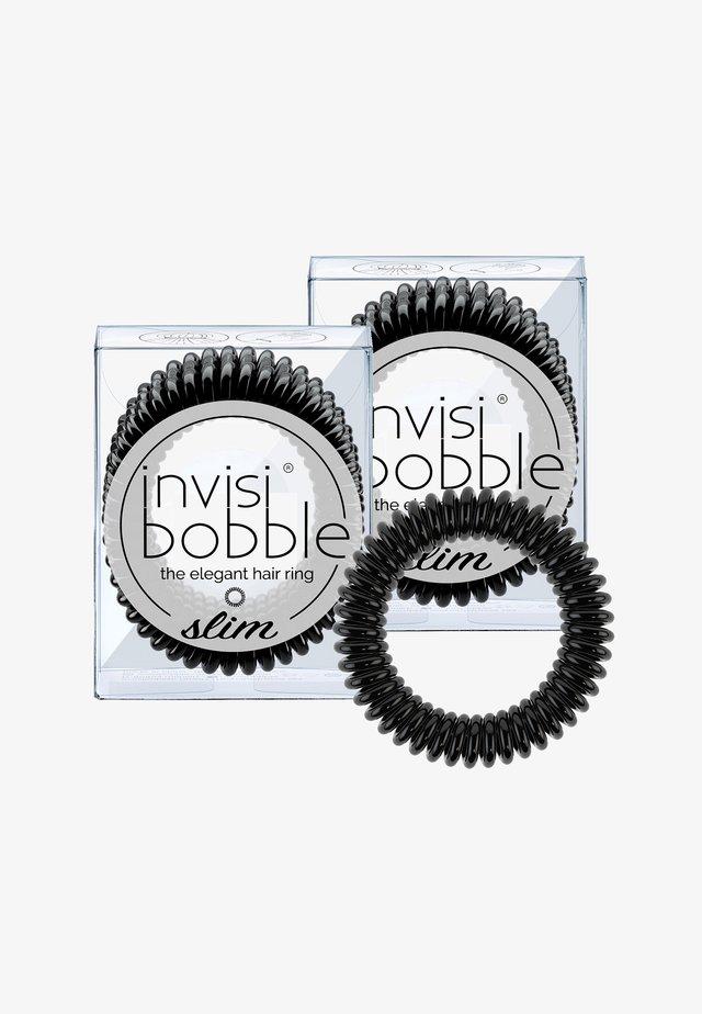 SLIM HAARGUMMI 2 PACK - Haar-Styling-Accessoires - true black