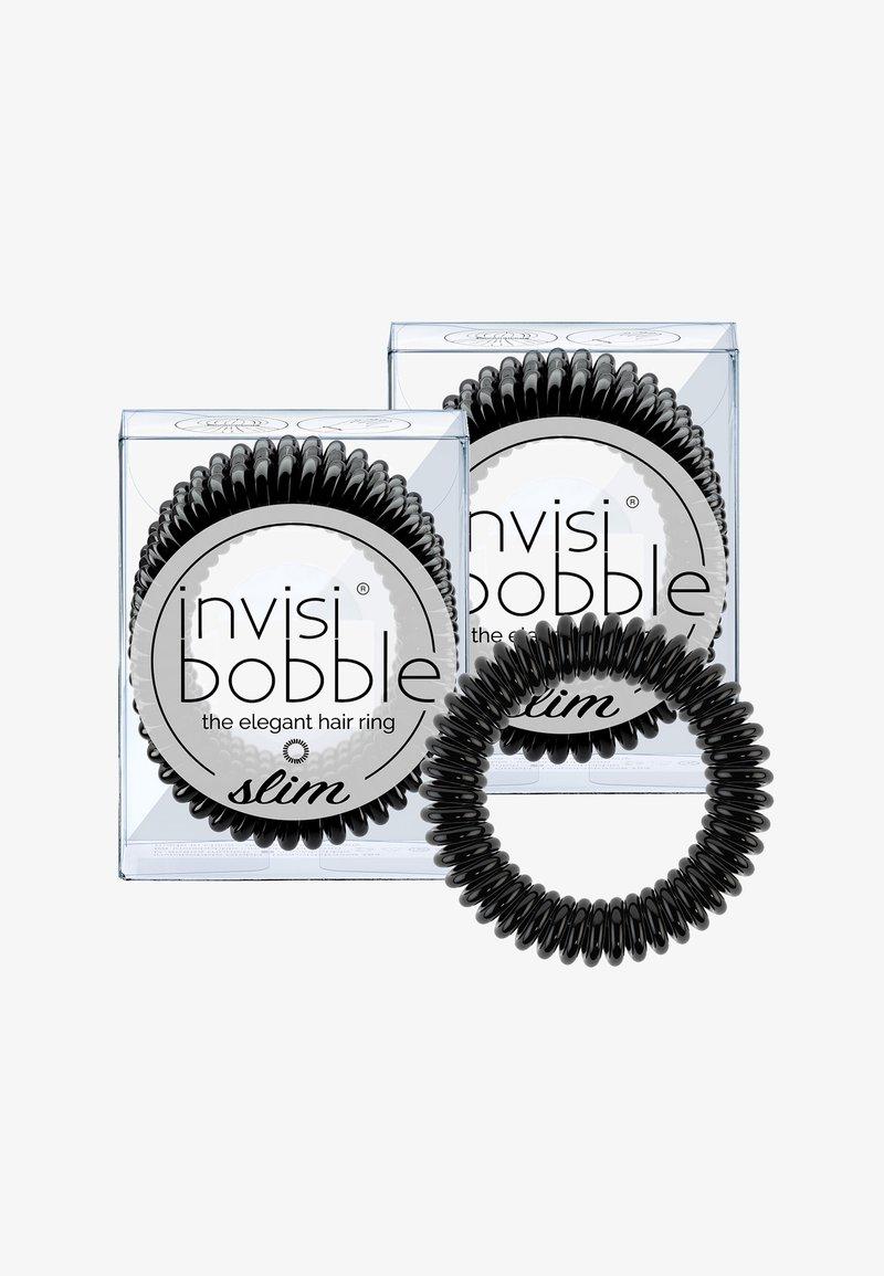 Invisibobble - SLIM HAARGUMMI 2 PACK - Accessoires cheveux - true black