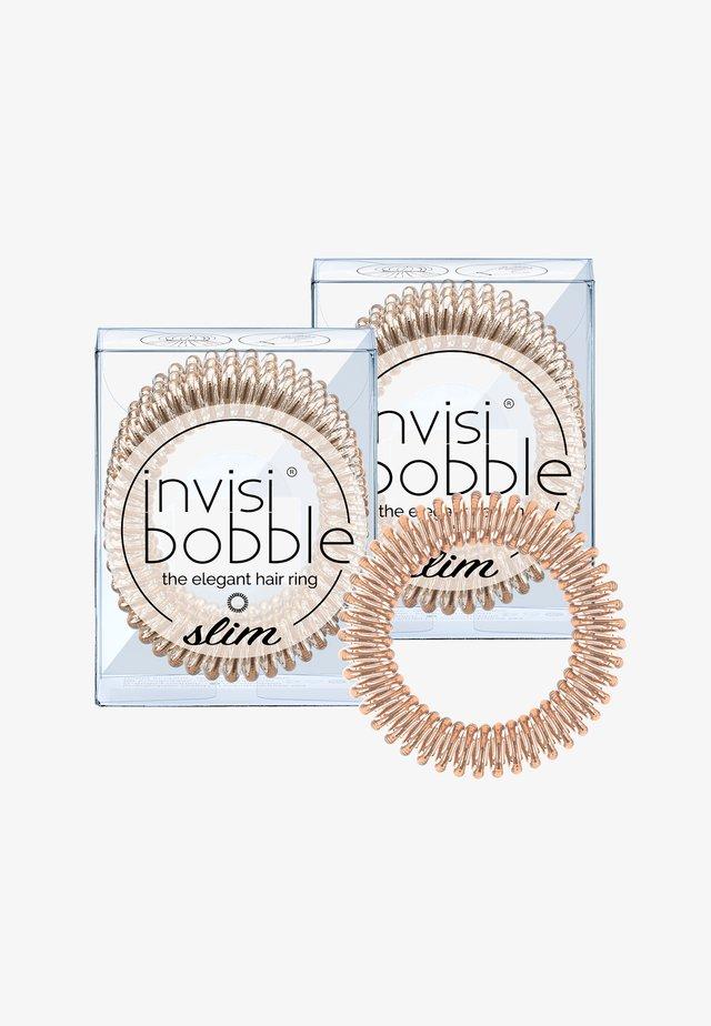 SLIM HAARGUMMI 2 PACK - Haar-Styling-Accessoires - bronze me pretty