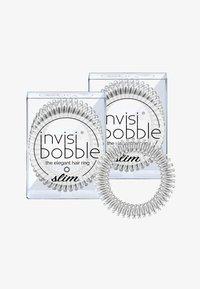 Invisibobble - SLIM HAARGUMMI 2 PACK - Haar-Styling-Accessoires - chrome sweet chrome - 0