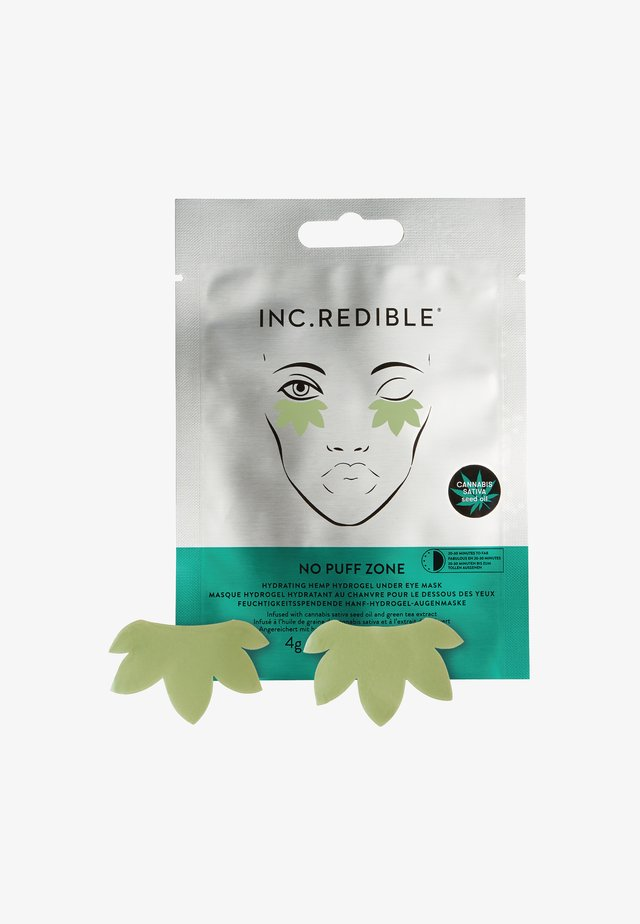 JUST KINDA BLISS HEMP UNDEREYE MASK - Ögonvård - universal neutral shade