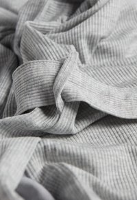 Intimissimi - GERIPPTER MORGENMANTEL AUS MODALMIX - Dressing gown - silver grey mel - 4
