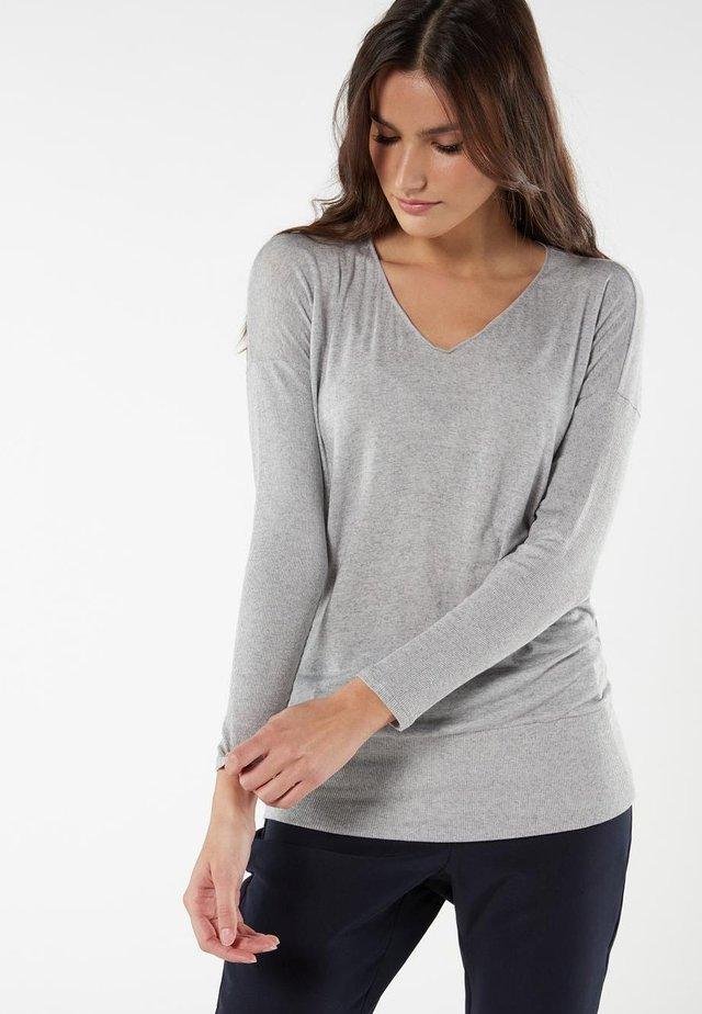 Nachtwäsche Shirt - grigio mel.