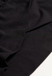 Intimissimi - LANGÄRMELIGES OBERTEIL AUS MICROMODAL IN WICKELOPTIK - Long sleeved top - nero - 4
