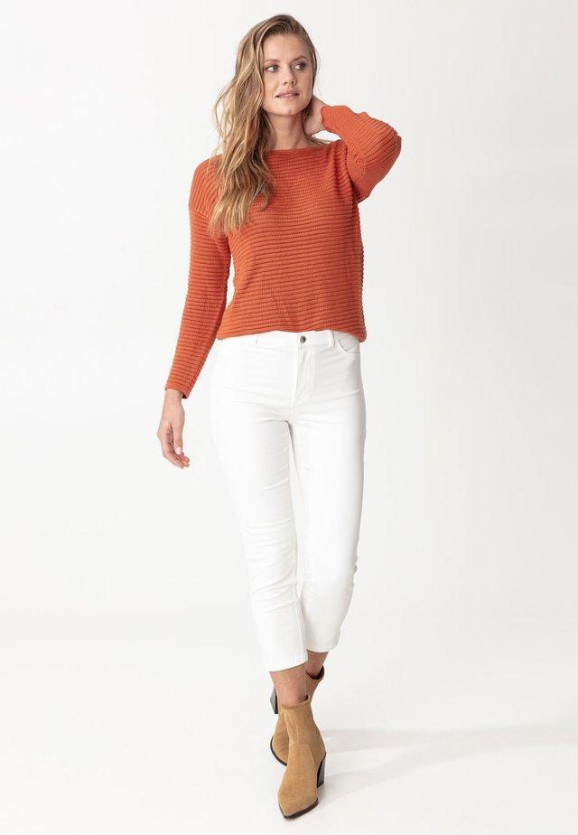 GRACE - Spodnie materiałowe - white