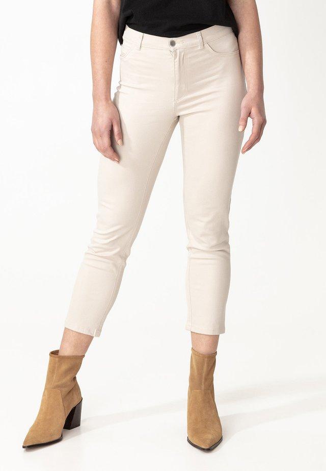 GRACE - Spodnie materiałowe - beige