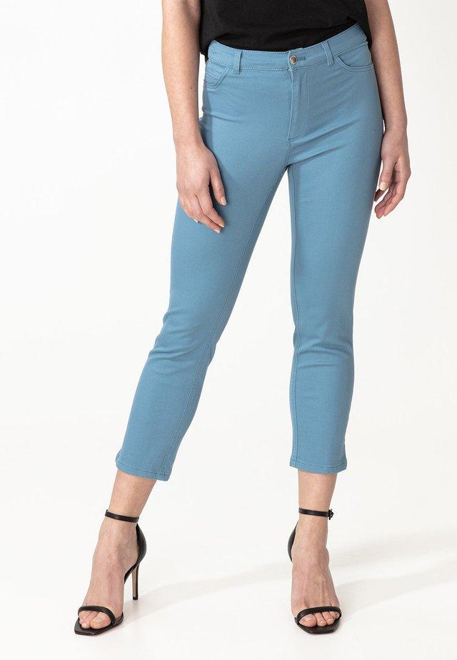 GRACE - Spodnie materiałowe - blue