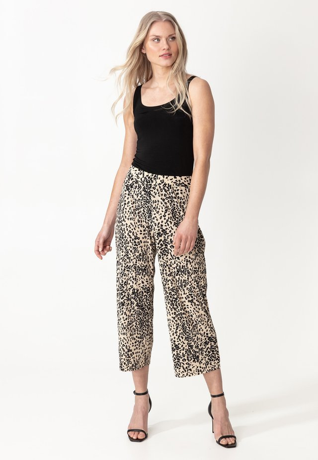 INGA - Spodnie materiałowe - leo1