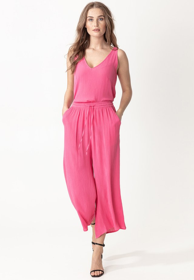 ELSIE  - Spodnie materiałowe - pink