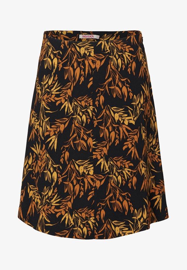 HAILEY - Spódnica trapezowa - black