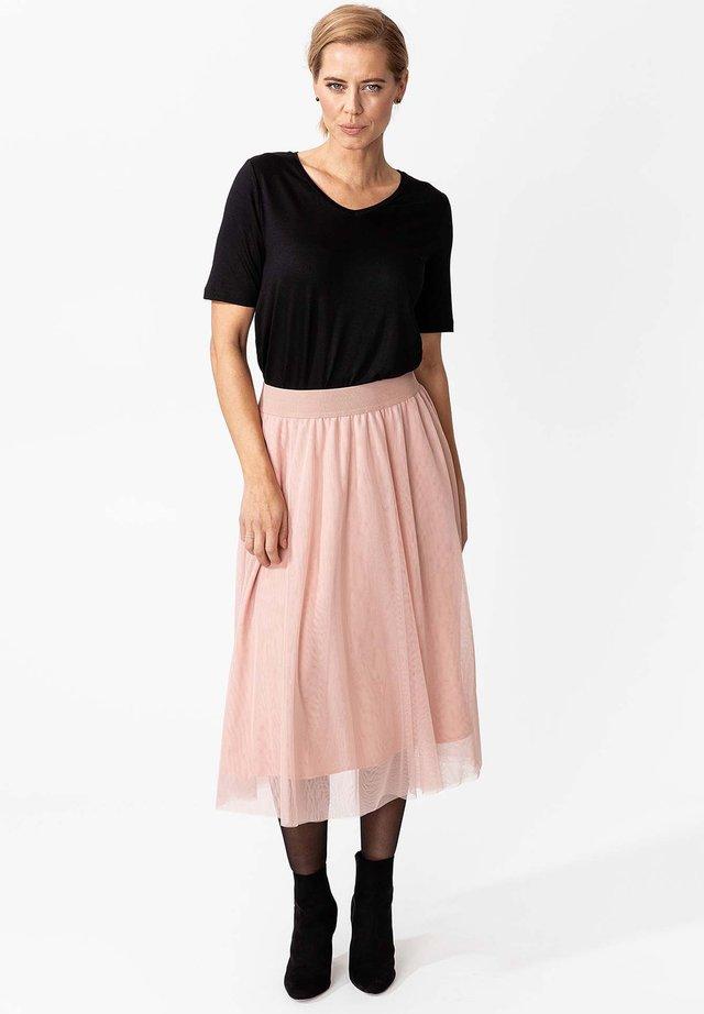 CARMINA - Spódnica trapezowa - pink