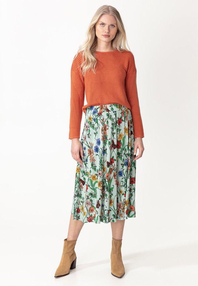 SKIRT LISA - Spódnica trapezowa - mint