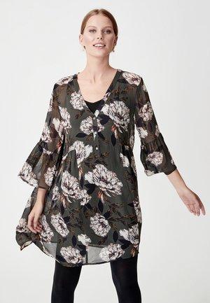 ELLIE - Korte jurk - olive