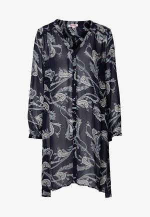 MAEKO - Skjortklänning - blue