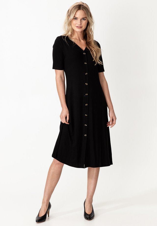 DRESS MAYA - Blousejurk - black