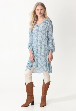 Shirt dress - light blue