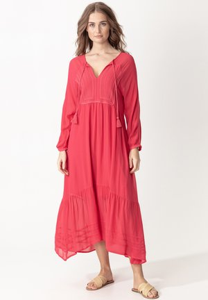 LENA - Maxi dress - raspberry