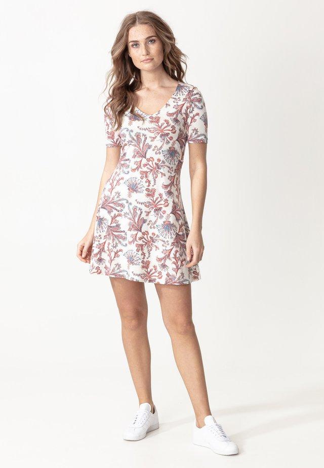 DRESS CLAIRE - Jerseyjurk - white