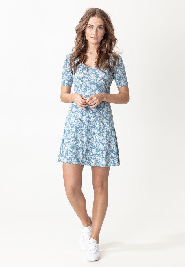 DRESS CLAIRE - Jerseyklänning - blue