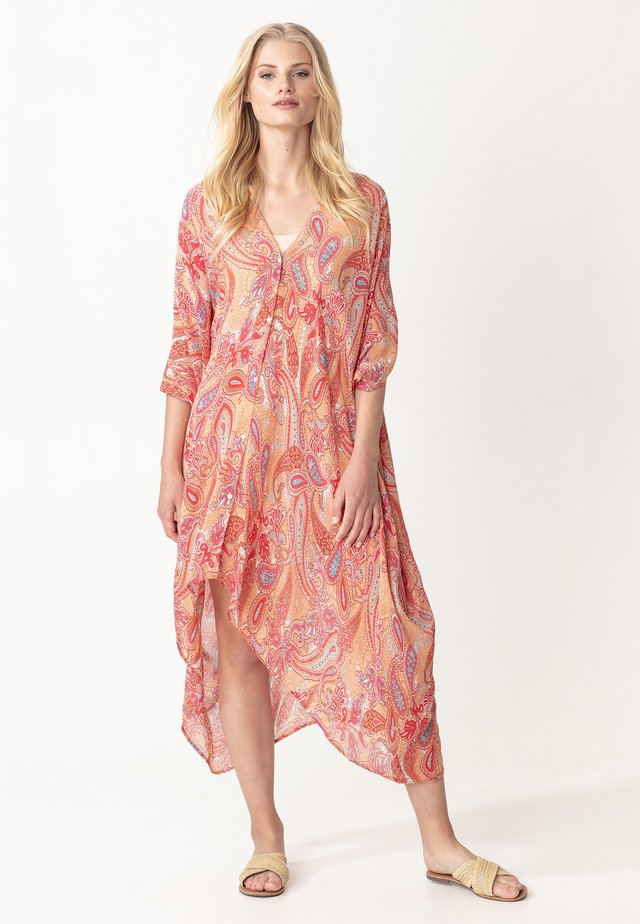 PINEAPPLE KAFTAN - Sukienka letnia - orange