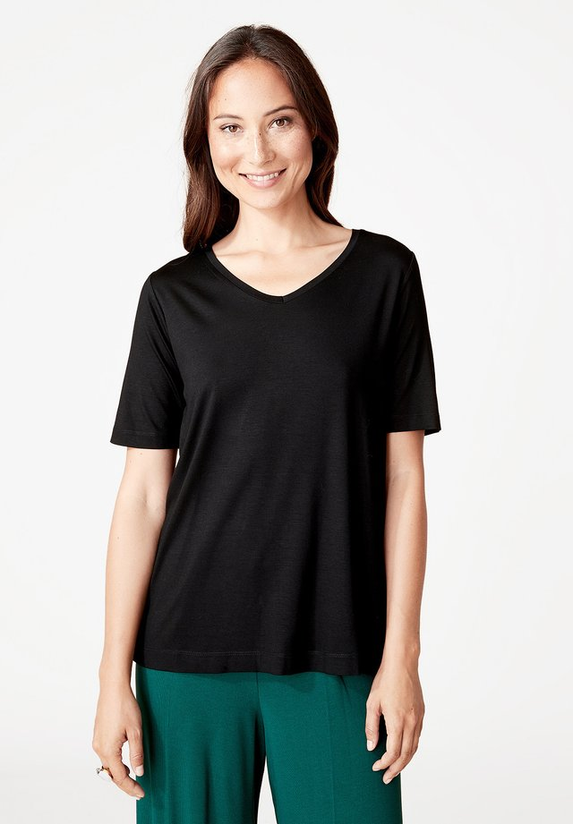 SOLANA - T-shirt basic - black