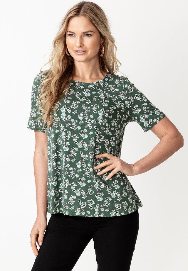 DIANA - T-shirts print - green