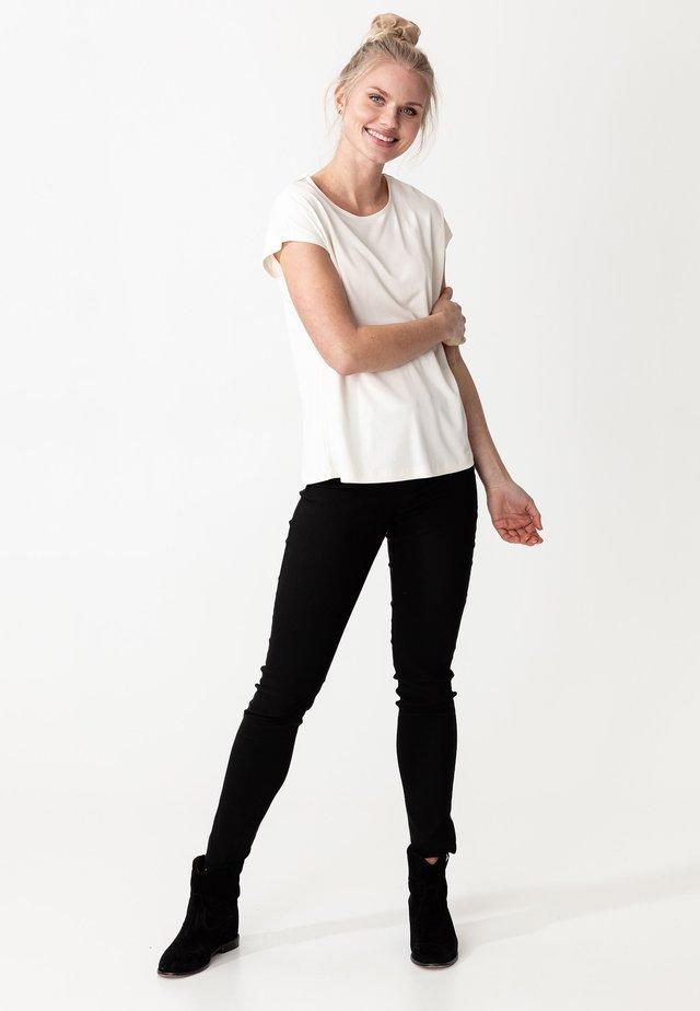 LENORA - T-shirt basic - white