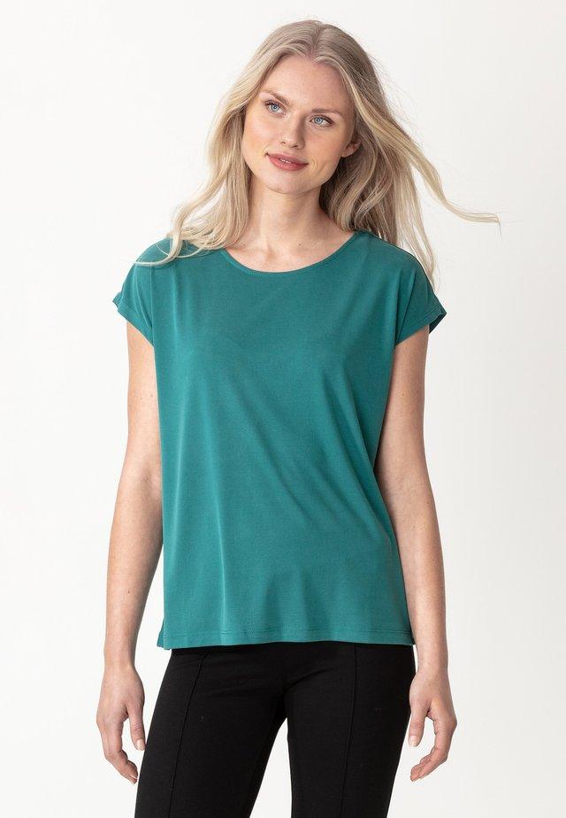 LENORA - T-shirt basic - petrol