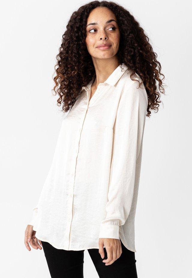 MONAH - Skjortebluser - offwhite