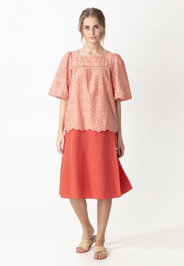 MIRIAM - Bluzka - peach