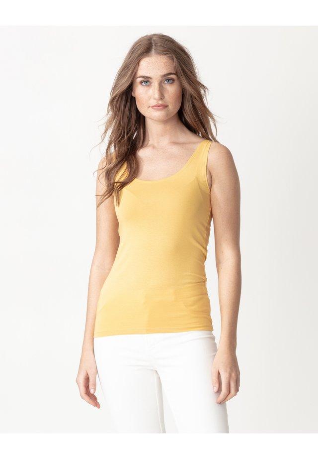LEA - Top - yellow