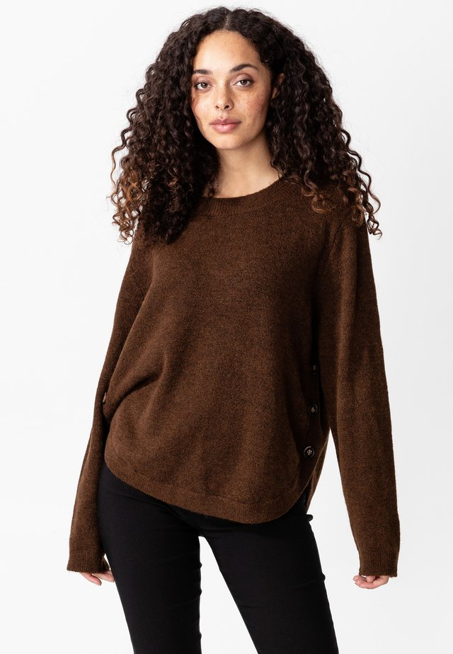 RIED - Sweter - brown