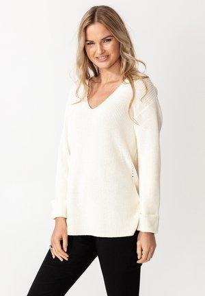 KLARA - Sweter - white