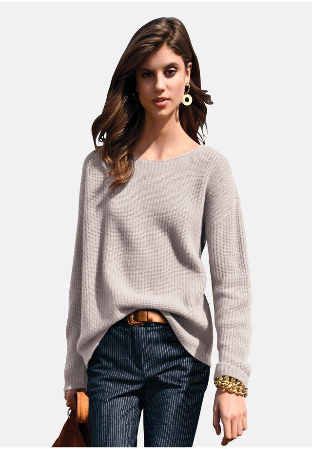 Pullover - stein