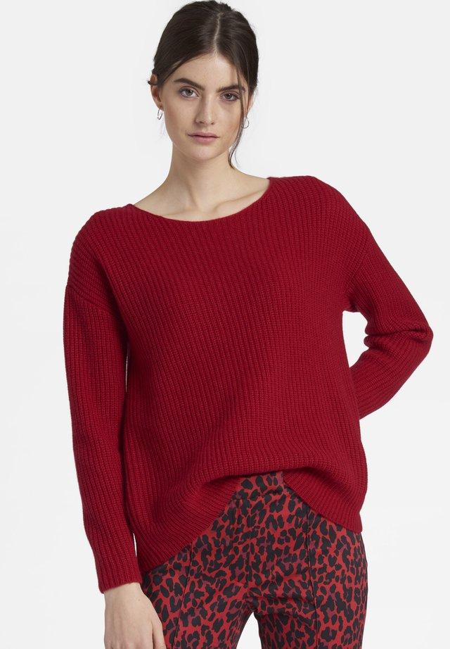 Pullover - kirsche